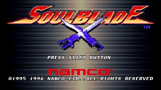 Screenshot Thumbnail / Media File 1 for Soul Blade [NTSC-U]
